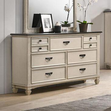 Claremont Sawyer Dresser in Antique White, , large