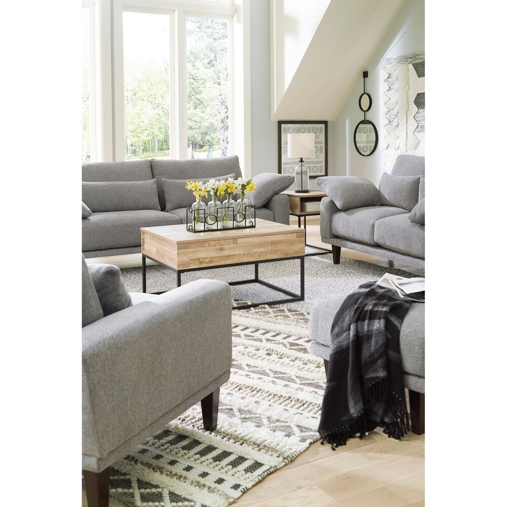 Signature Design by Ashley Baneway Sofa in Sterling, , large