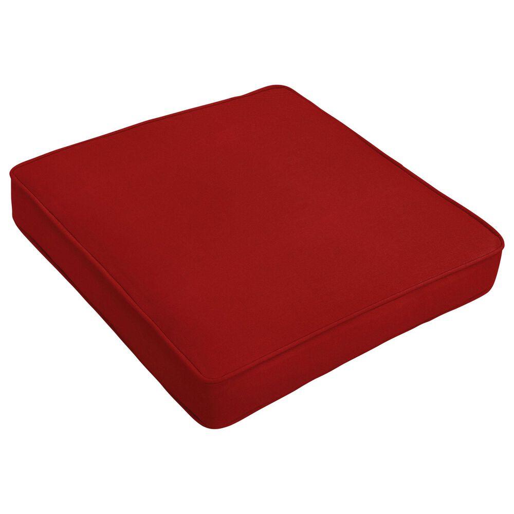 "Sorra Home Sunbrella 20"" Cushion in Canvas Jockey Red, , large"