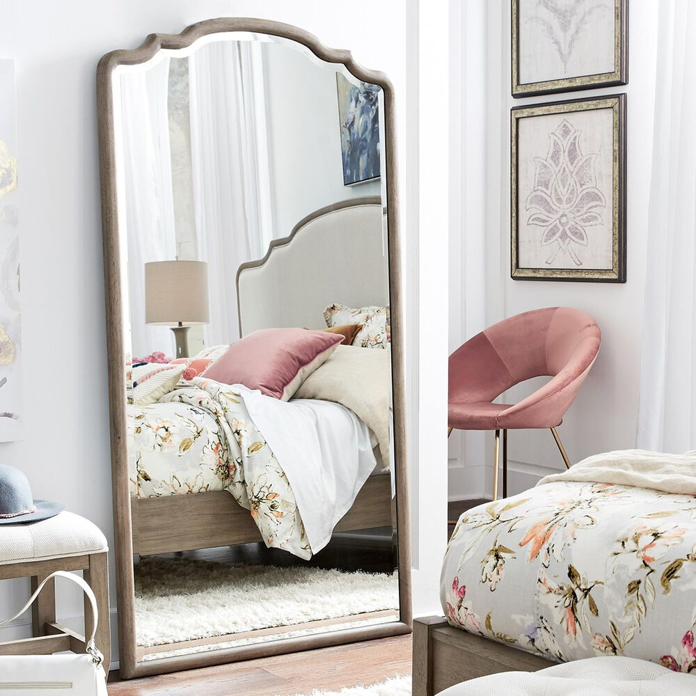 Riva Ridge Provence Floor Mirror in Patine, , large