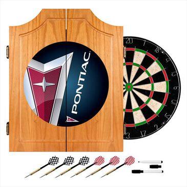 Timberlake Pontiac Wood Dart Cabinet Set, , large