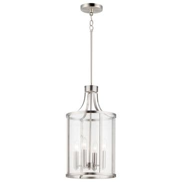 Maxim Lighting Sentinel 4-Light Pendant in Satin Nickel, , large