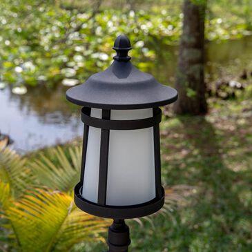 Kenroy Portable Post 1-Light Lantern in Black, , large