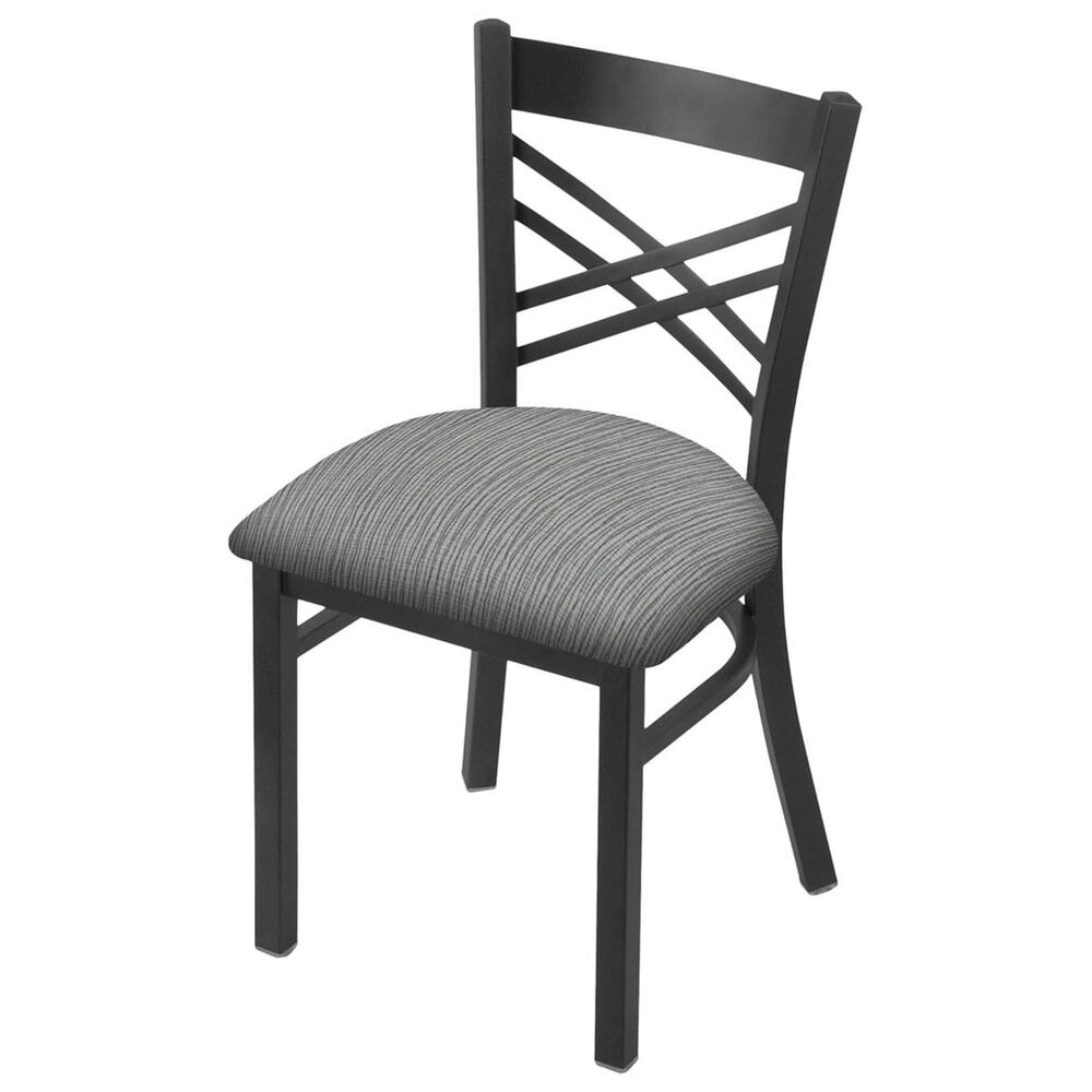 """Holland Bar Stool 620 Catalina 18"""" Chair with Pewter and Graph Alpine Seat, , large"""