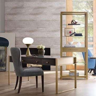 Hooker Furniture Curata Bunching Bookcase in Golds, , large
