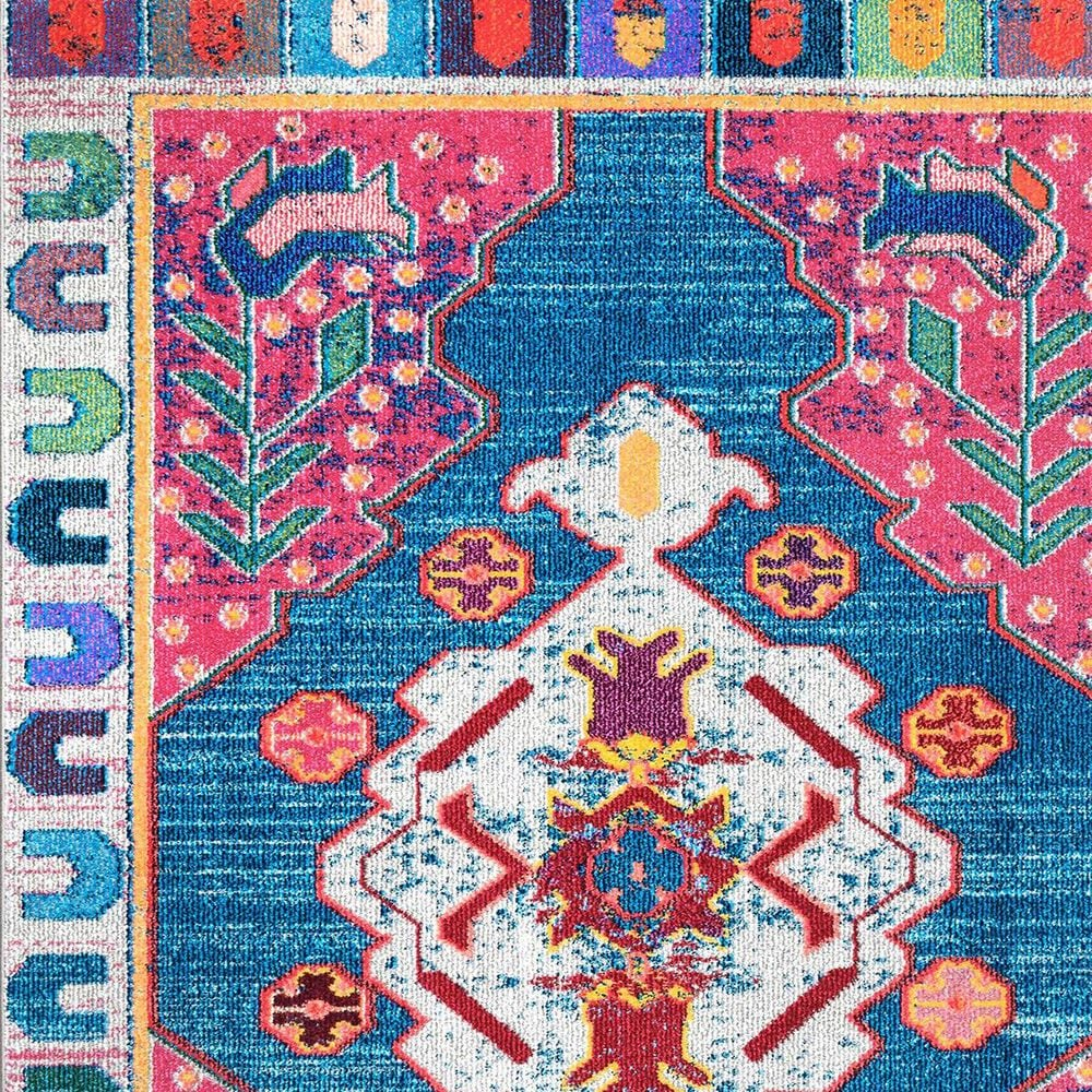 nuLOOM Bella KSBL05A 5' x 8' Multicolor Area Rug, , large