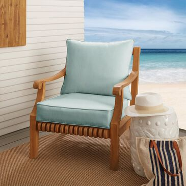 "Sorra Home Sunbrella 22.5"" Deep Seating Cushion in Canvas Spa, , large"