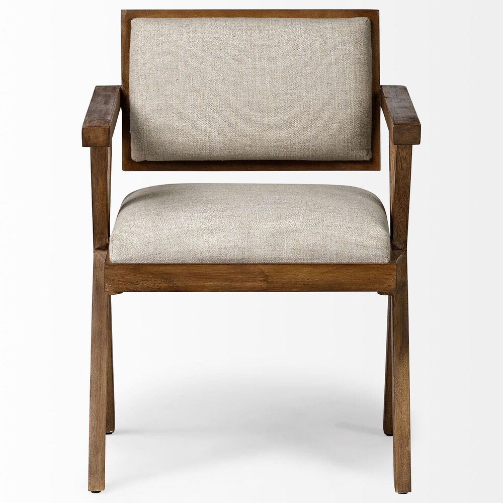 Mercana Topanga I Arm Chair in Brown, , large