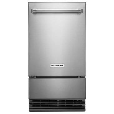 """KitchenAid 18"""" Outdoor Automatic Ice Maker in Stainless Steel, , large"""