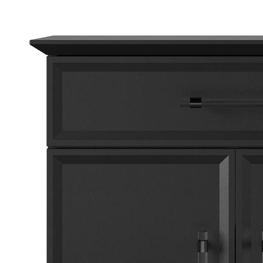 DHP Glenview Storage Cabinet in Matte Black, , large