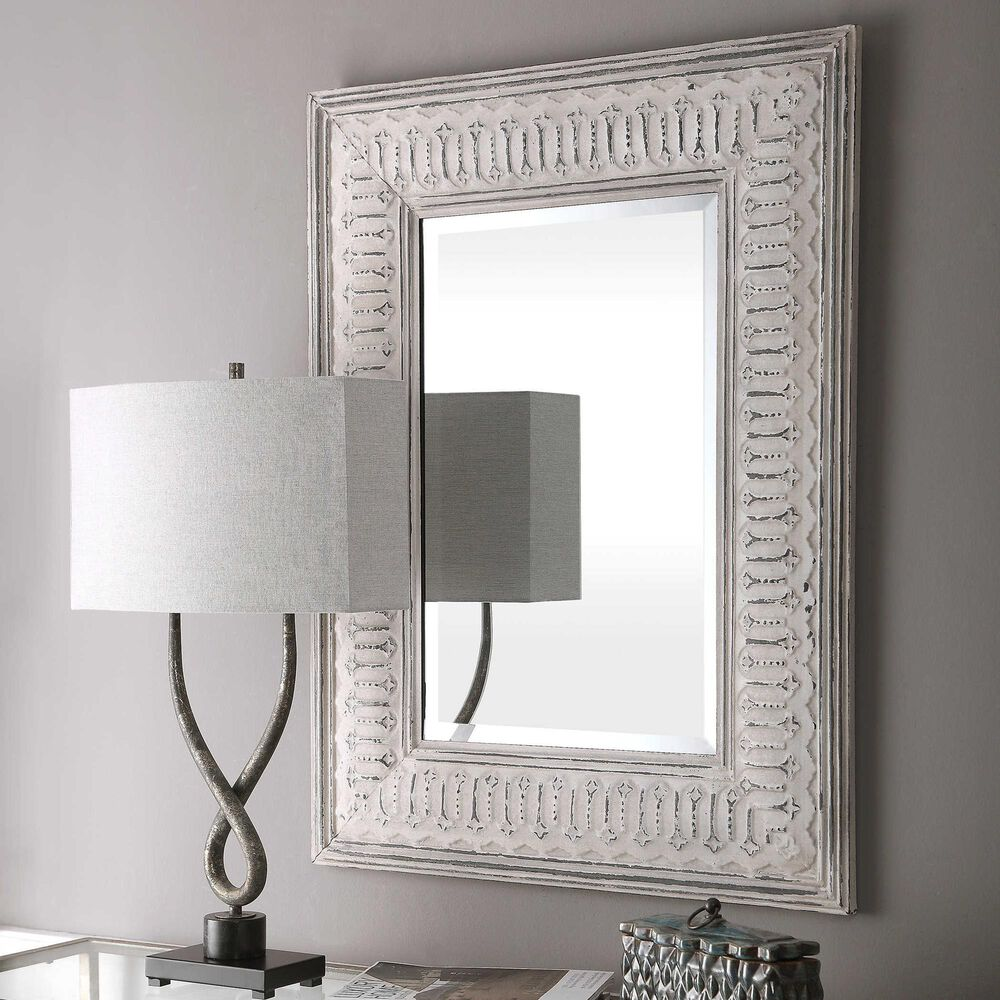Uttermost Argenton Rectangle Mirror, , large