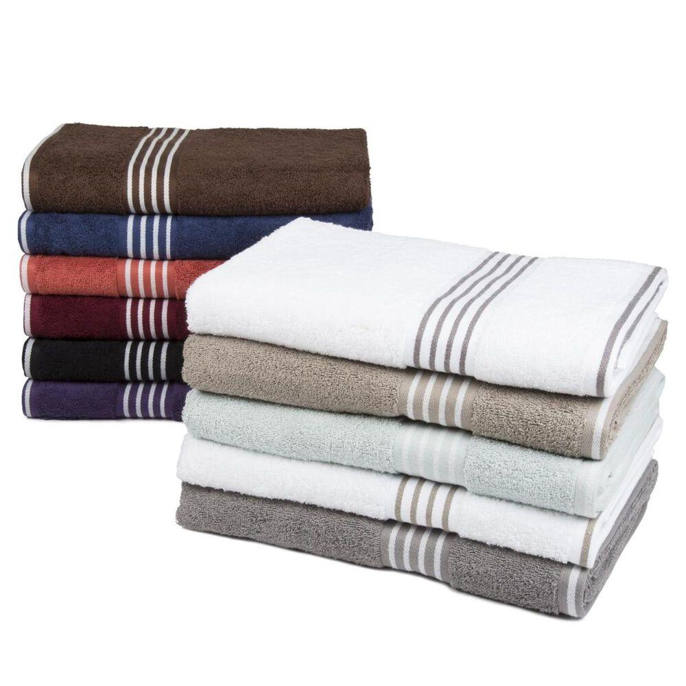 Timberlake Lavish Home Rio 8 Piece 100% Cotton Towel Set, , large