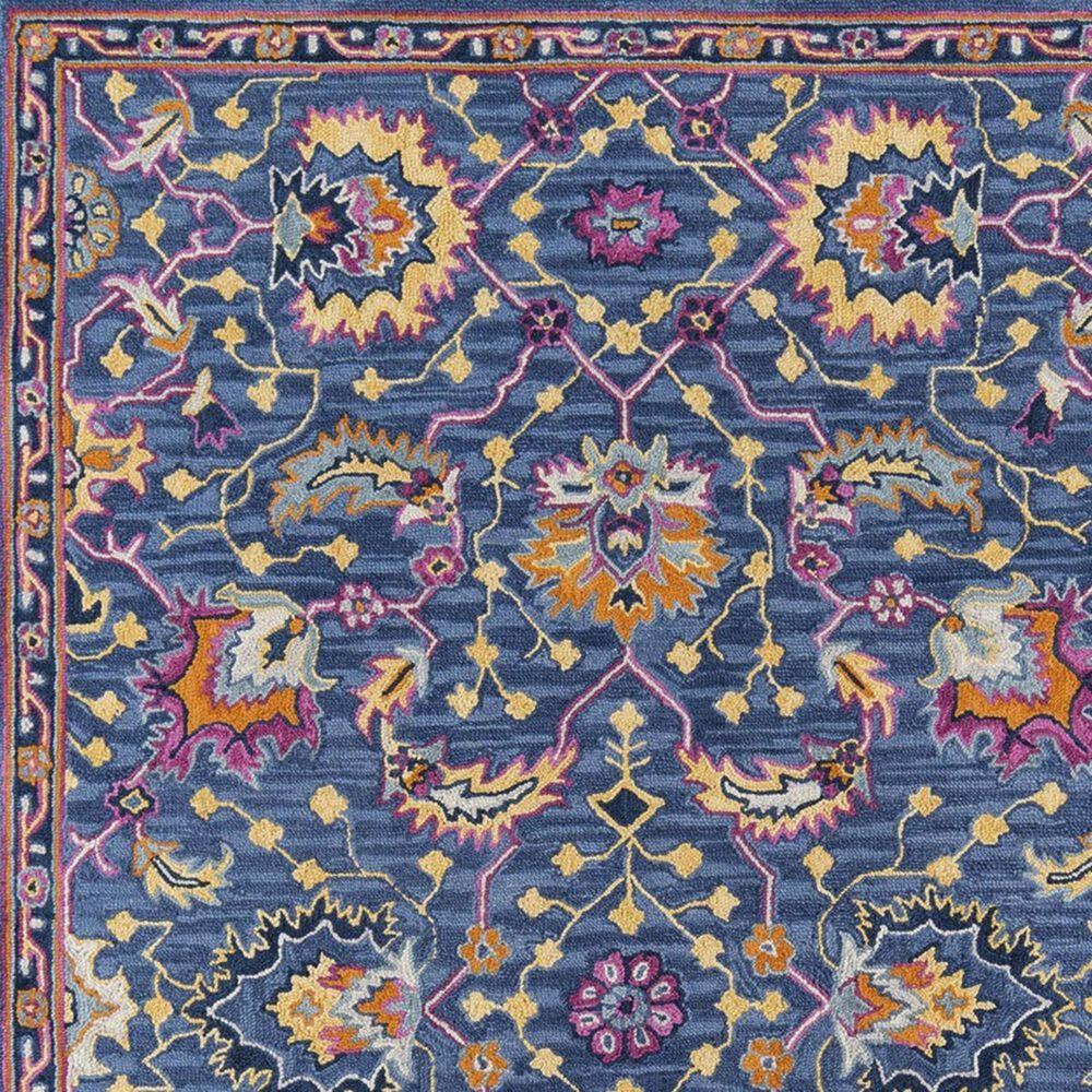 Momeni Ibiza IBI-03 5' x 8' Blue Area Rug, , large