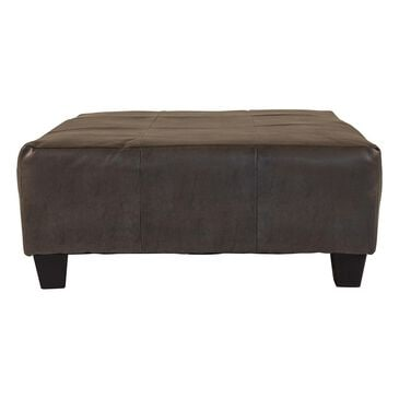 Carolina Furniture Austin Ottoman in San Marino Gray, , large