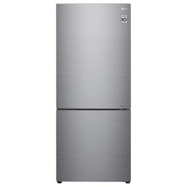 LG 15 Cu. Ft. Bottom Freezer Refrigerator in Stainless Steel, , large