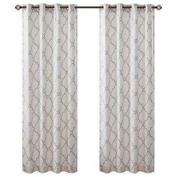 "Hampton Park Saratoga 50"" x 63"" Top Window Curtain in Ivory, , large"