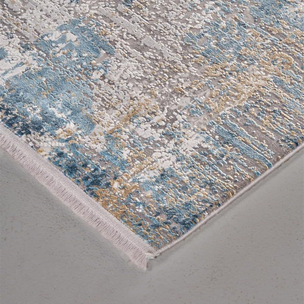 """Feizy Rugs Cadiz 3889F 11'6"""" x 14'6"""" Ivory and Blue Area Rug, , large"""