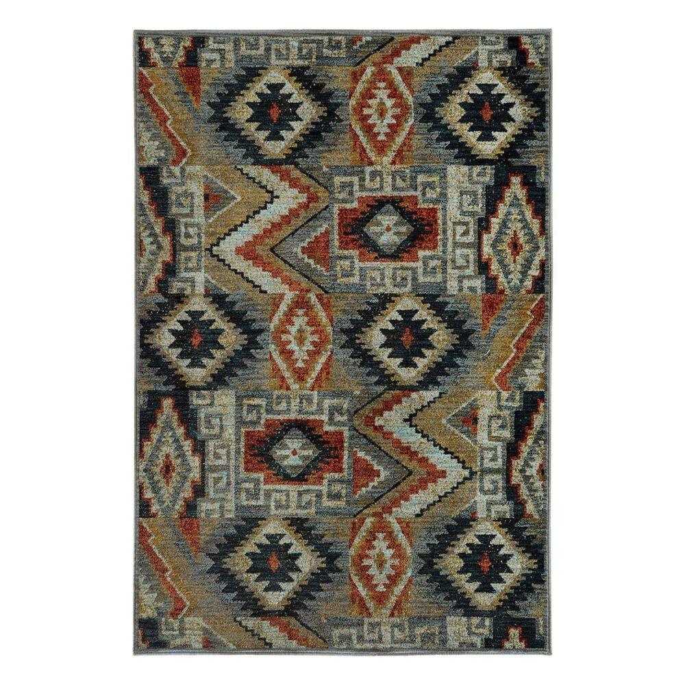 "Oriental Weavers Sedona 5937D 1'10"" x 3' Blue Area Rug, , large"