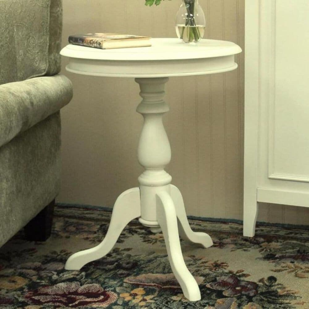 Carolina Cottage Gilda Side Table in Ivory, , large