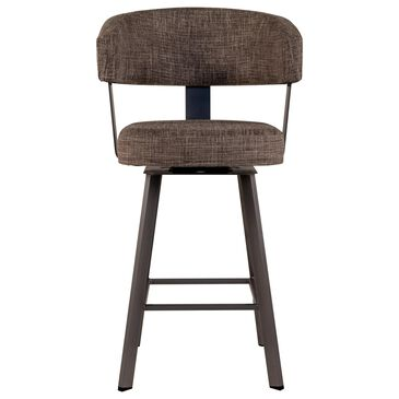 Amisco Grissom Swivel Stool in Serenity, , large