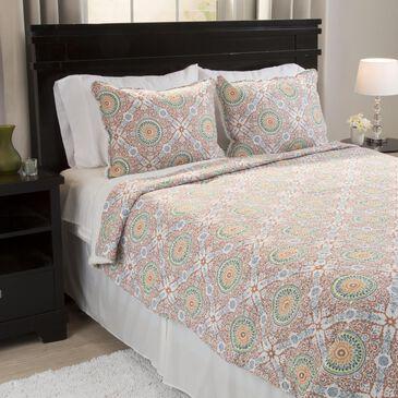 Timberlake Lavish Home Emilia Reversible 3 Piece King Quilt Set, , large