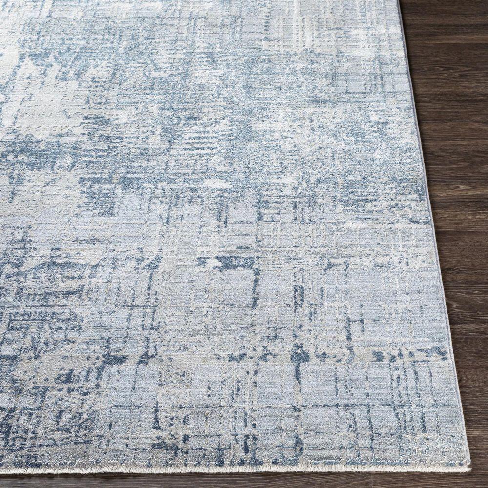 "Surya Brunswick 2'7"" x 10' Blue, Sage and Gray Runner, , large"