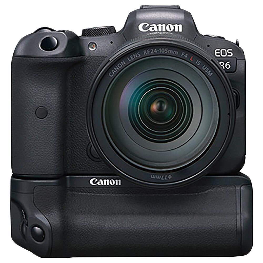 Canon EOS R6 Mirrorless Camera with RF 24-105mm f/4 USM Lens in Black, , large