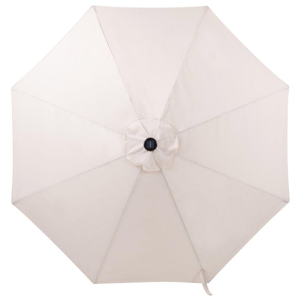 CorLiving Patio LED Umbrella in Beige, , large