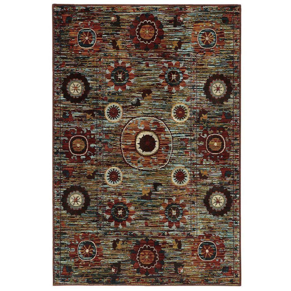 """Oriental Weavers Sedona 6408K 9'10"""" x 12'10"""" Multicolor Area Rug, , large"""