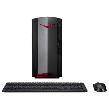 Acer Nitro N50-610 Gaming Desktop   Intel Core i5-10400F - 8GB RAM - GeForce GTX 1660 - 512GB SSD in Black, , large