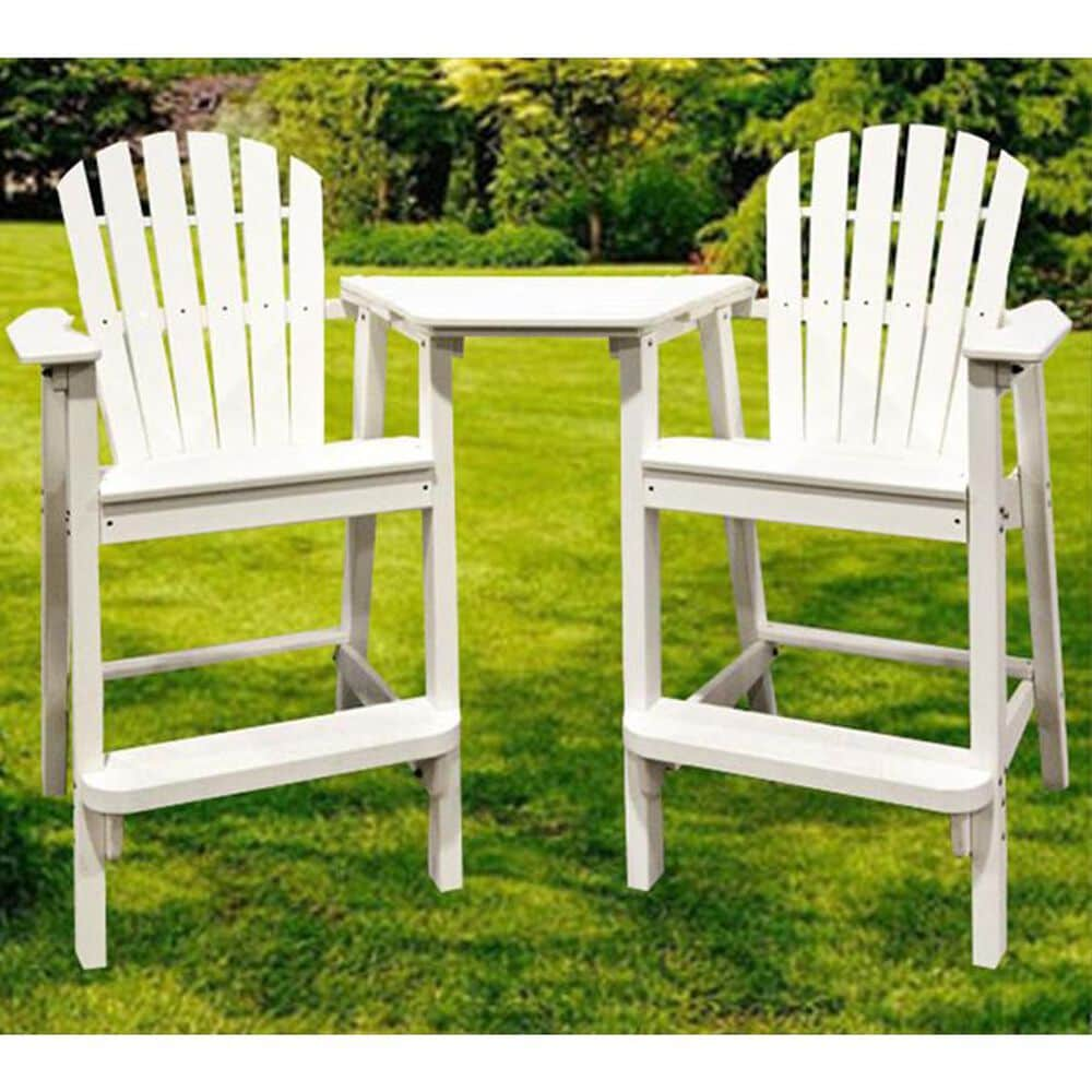 Oceanside 3-Piece Tete-A-Tete and Chair Set, , large