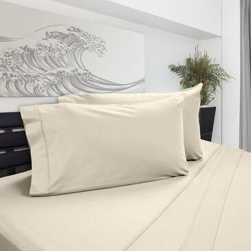 DreamFit DreamChill Degree 5 4-Piece Enhanced Bamboo Full Sheet Set in Ecru, , large