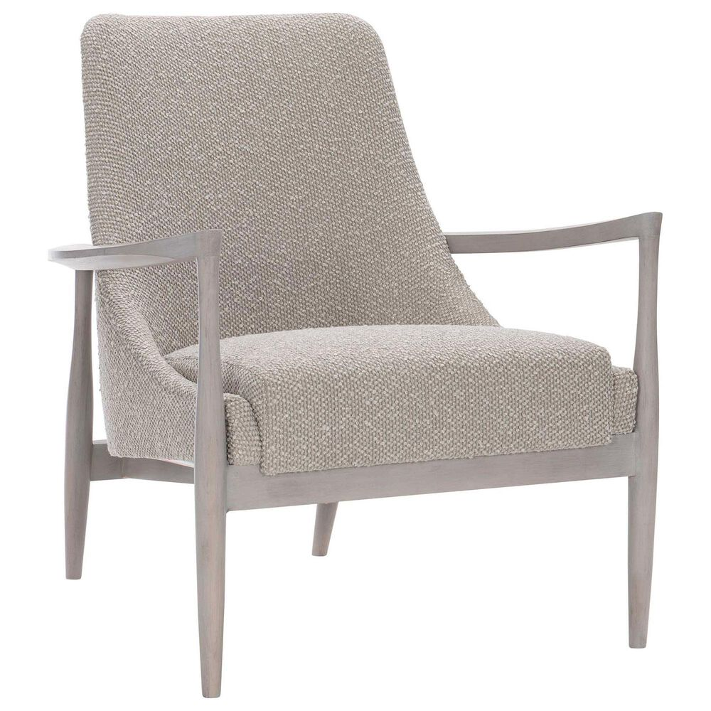 Bernhardt Noland Accent Chair in Dove Cushion and Greige, , large