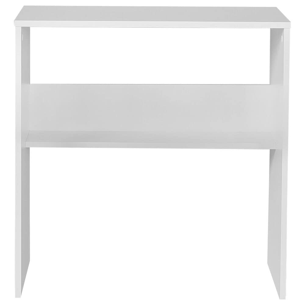"Regency Global Sourcing Niche Lux 28"" Desk Shell in White, , large"