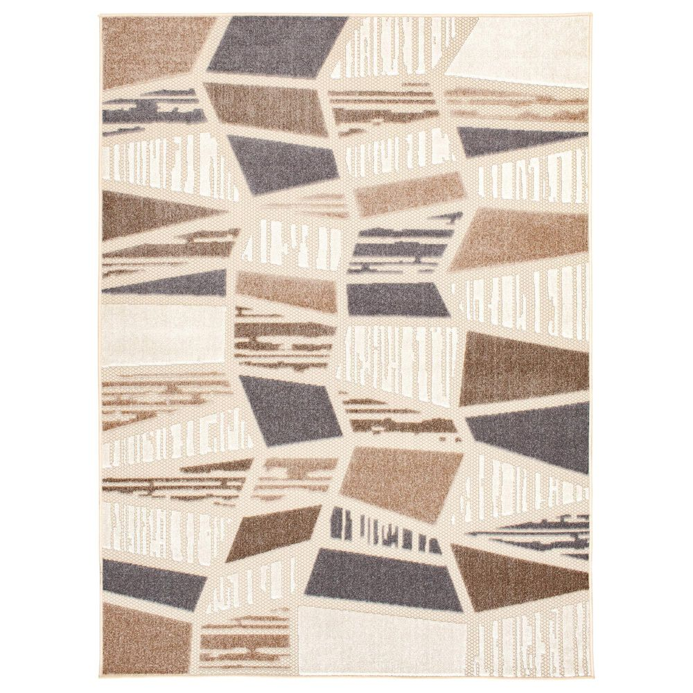 """Central Oriental Fontana Hadia 1653.04 2'2"""" x 3' Cream and Brown Area Rug, , large"""