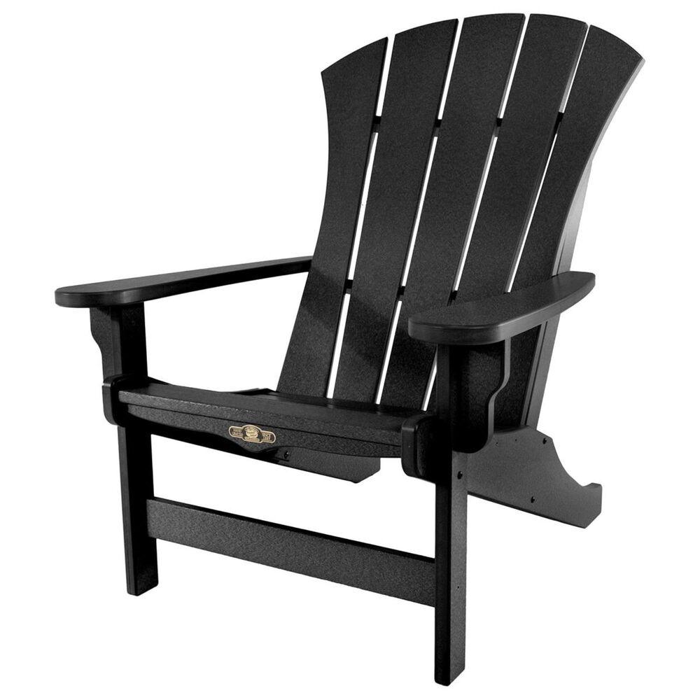 The Hammock Source Sunrise Adirondack Chair in Black, , large