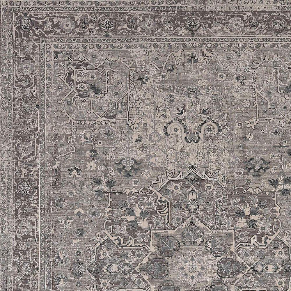 Karastan Tryst Verona RG078-131 9' x 12' Grey Area Rug, , large