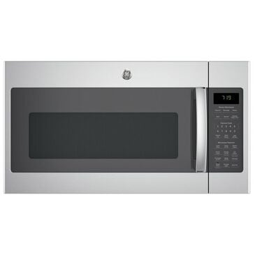 GE Appliances 1.9 Cu. Ft. Over-the-Range Microwave with Sensor in Stainless Steel, Stainless Steel, large