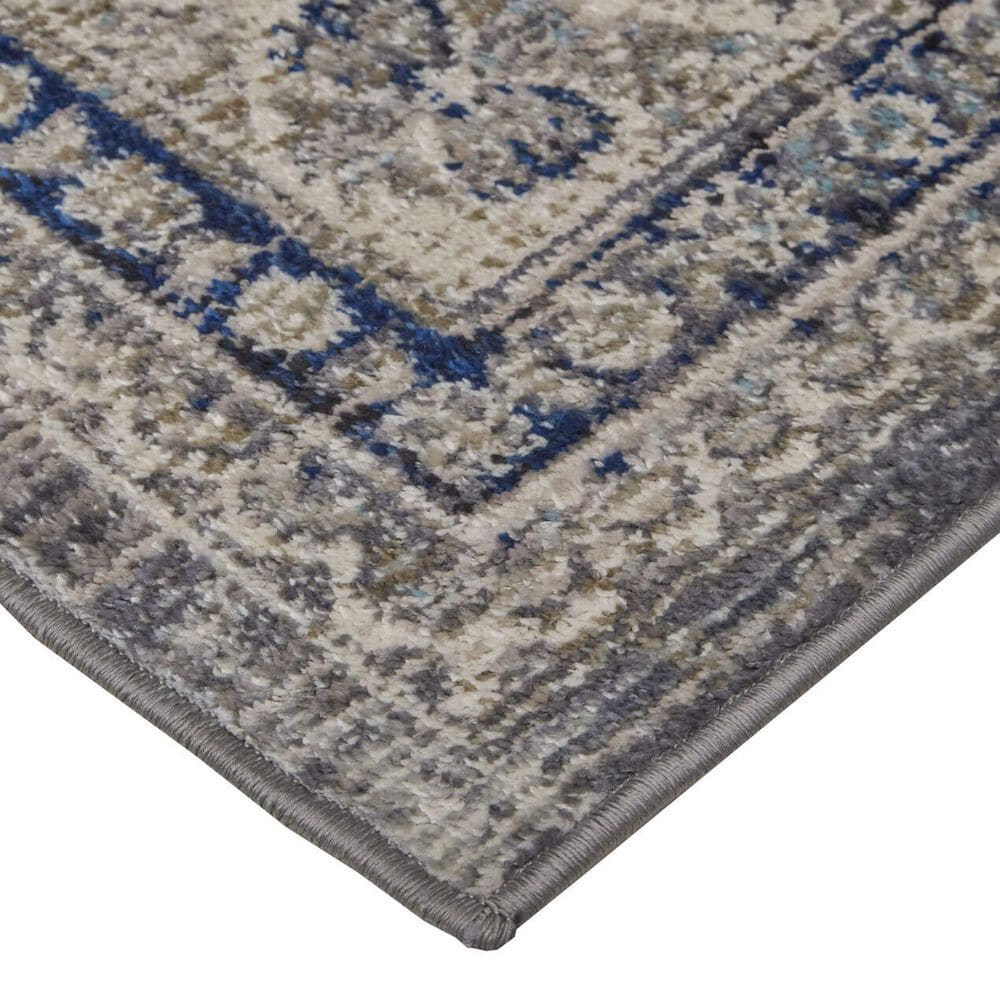 """Feizy Rugs Bellini 6'7"""" x 9'6"""" Gray and Blue Area Rug, , large"""