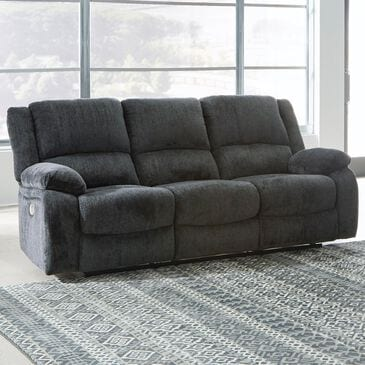 Signature Design by Ashley Draycoll Power Reclining Sofa in Slate, , large