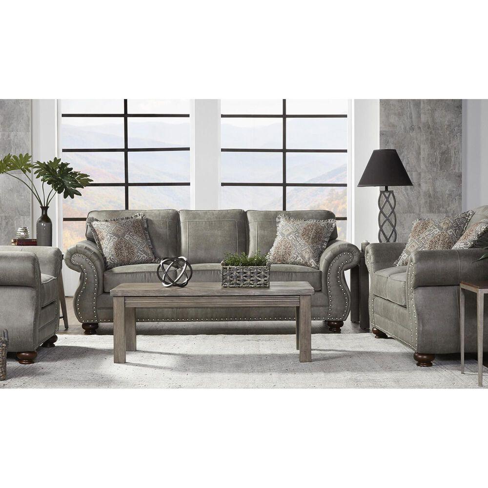 Hughes Furniture Loveseat in Goliath Mica, , large