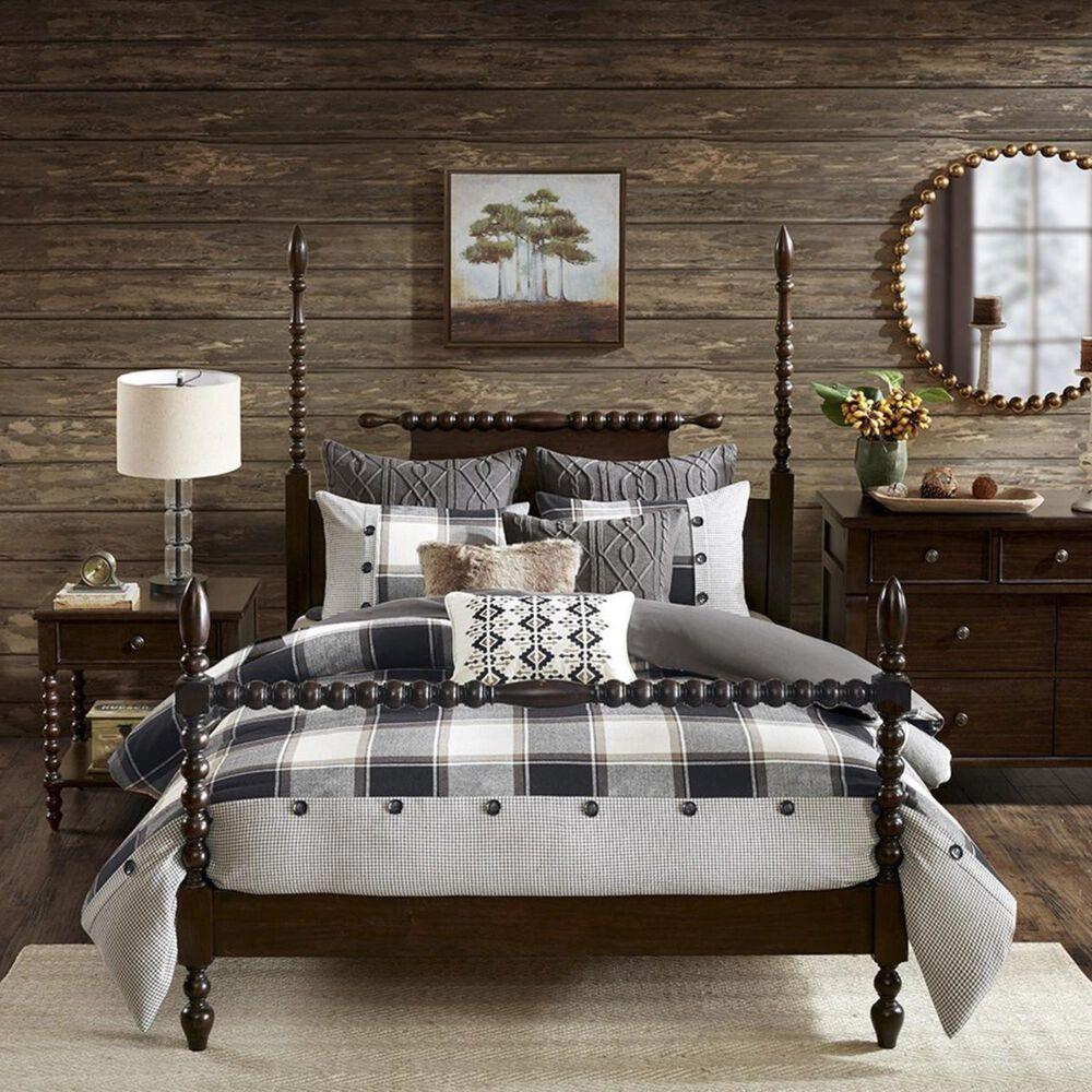 Goldstar Bedding Urban Cabin 8-Piece Queen Comforter Set in Brown, , large