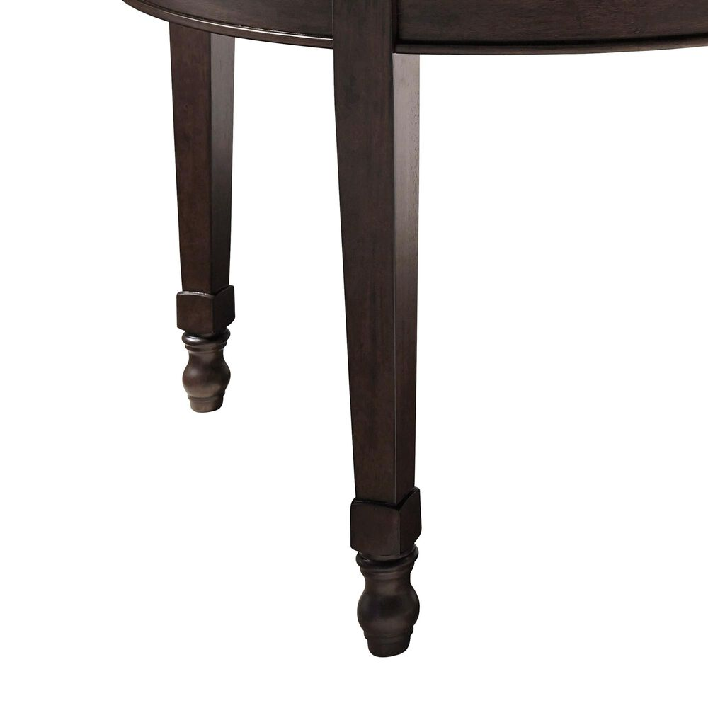 Signature Design by Ashley Adinton Oval Extension Dining Table in Reddish Brown - Table Only, , large