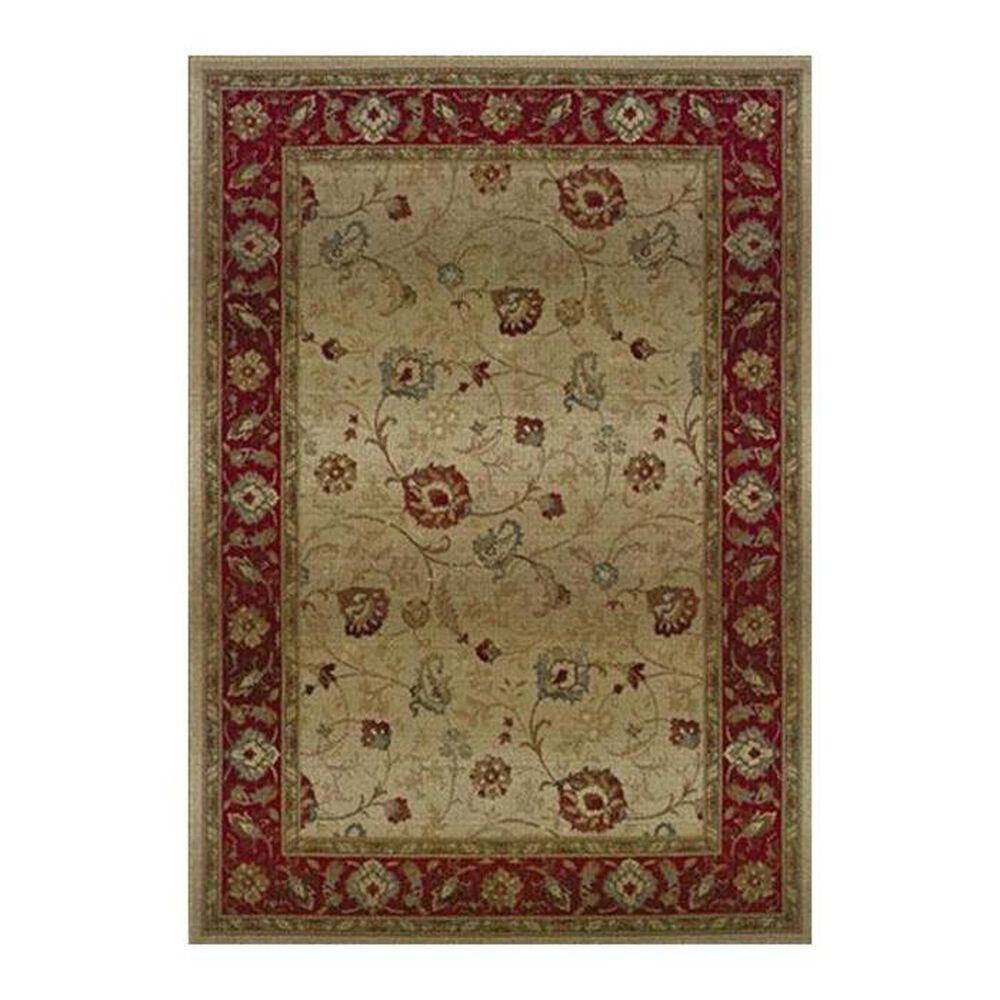"""Oriental Weavers Genesis 521J 6'7"""" x 9'1"""" Tan Area Rug, , large"""