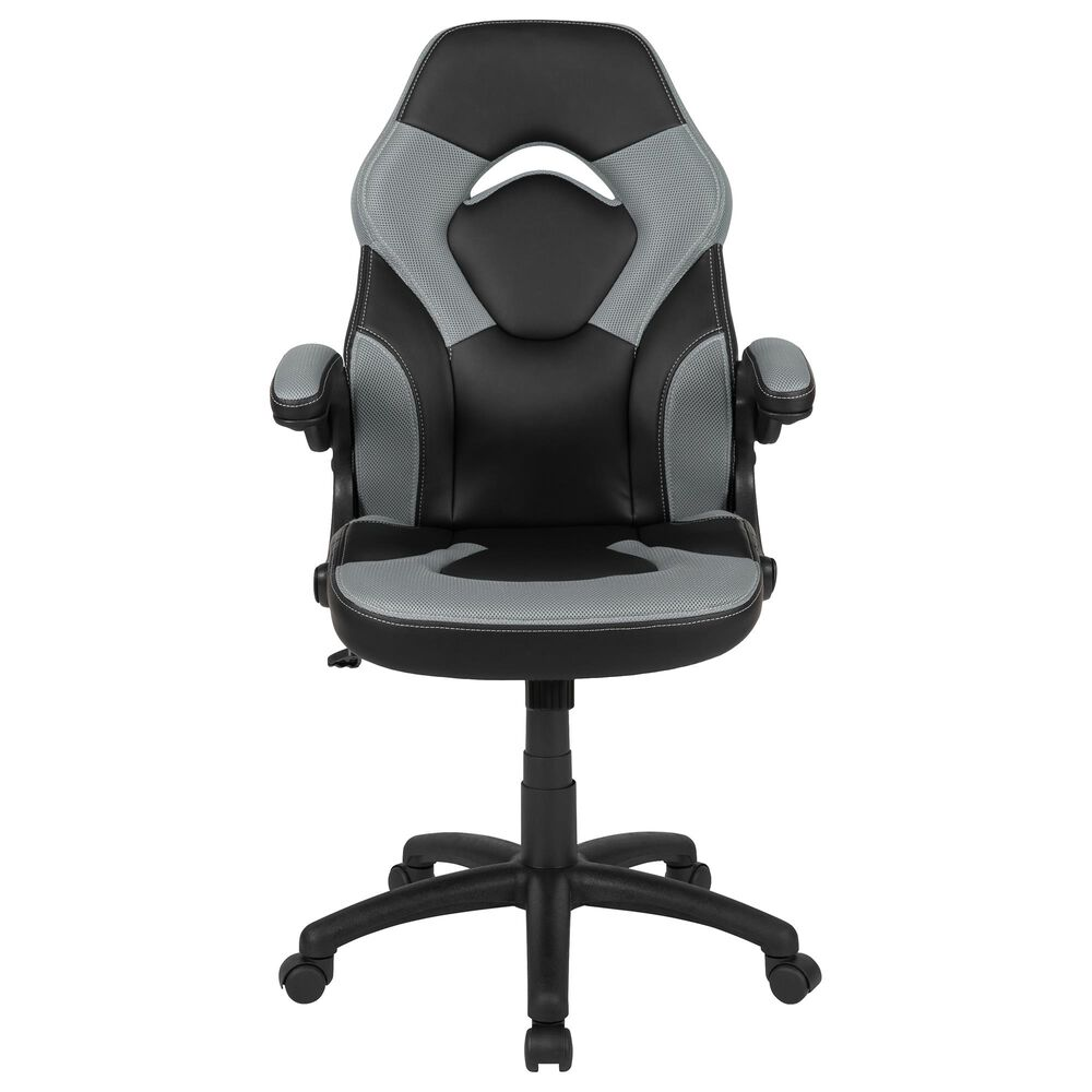 Flash Furniture X10 Gaming Chair in Gray, , large