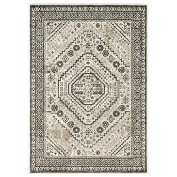 "Oriental Weavers Georgia Medallion 659C0 7'10"" x 10' Ivory Area Rug, , large"