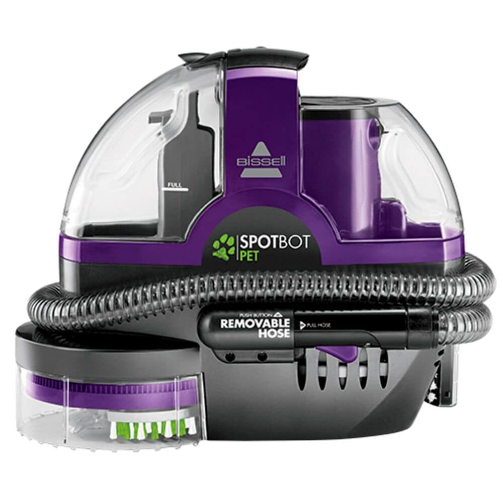 Bissell SpotBot Pet Robotic Portable Carpet Cleaner and Professional Spot & Stain Plus Oxy Formula Floor Care Package , , large