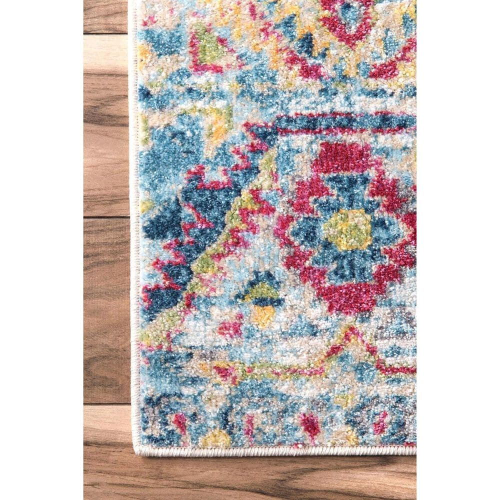 """nuLOOM Valley MUVL03A 2'8"""" x 8' Multicolor Runner, , large"""