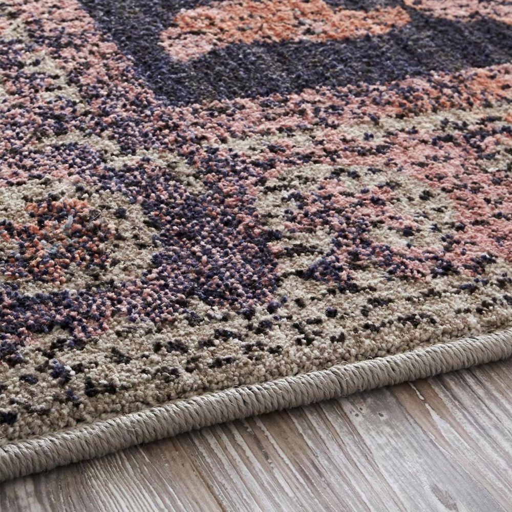 "Mohawk Studio Suzani 91325-50102 5'3"" x 7'10"" Sapphire Blue and Purple Area Rug, , large"