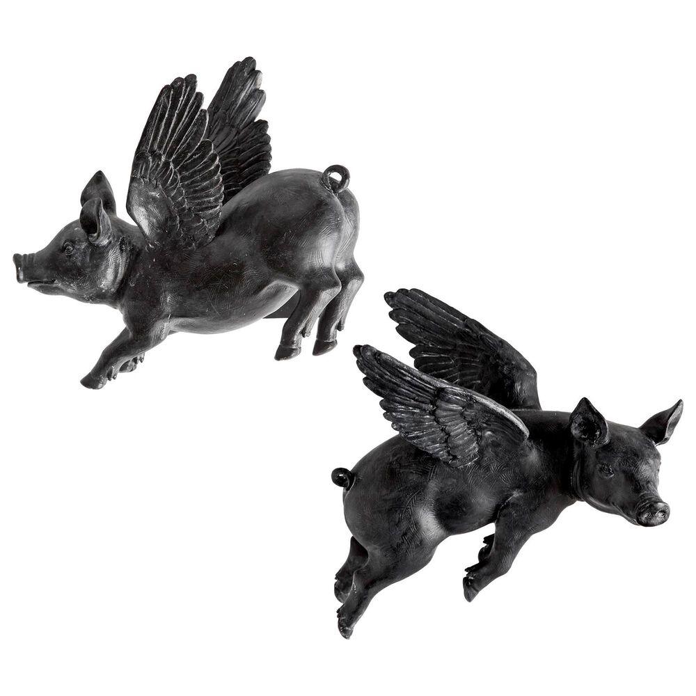Mercana Hagbadi Flying Pigs Wall Art (Set of 2), , large